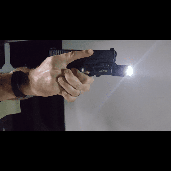 Low light firearm training
